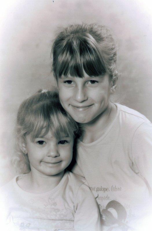 Justine et Chloé