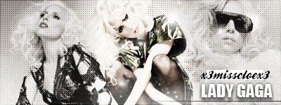 Je Vibre Au Son de Lady Gaga . ♥