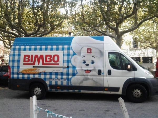 camion de livraison espagnol