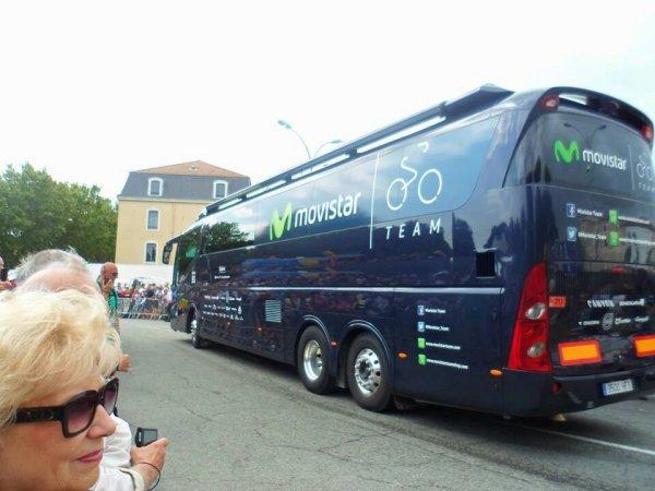 L autocar de la Movistar