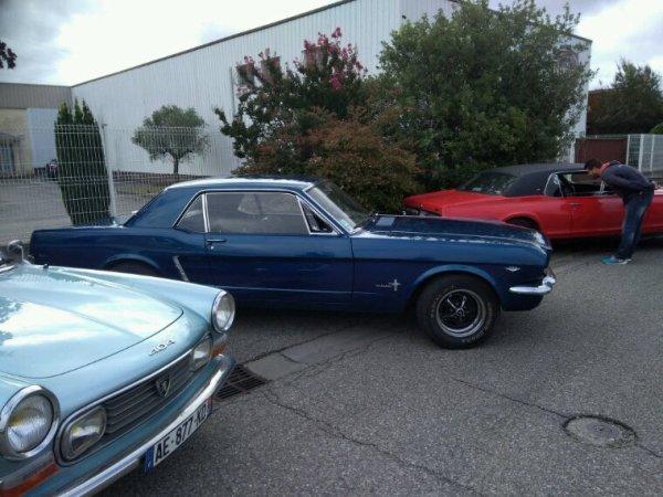 Collection de voitures anciennes à Castelnaudary