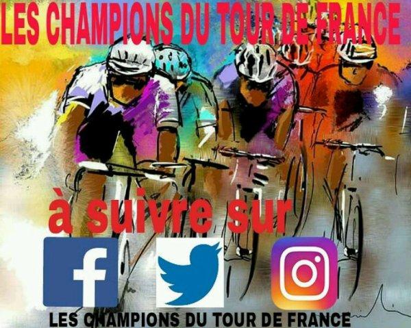 LES CHAMPIONS DU TOUR DE FRANCE