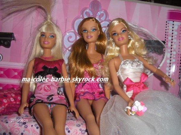 mes 3 poupées