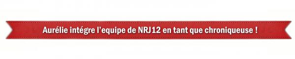 Aurélie intègre l'équipe de NRJ12 en tant que chroniqueuse !