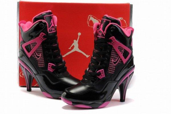 nike air jordan heels for women