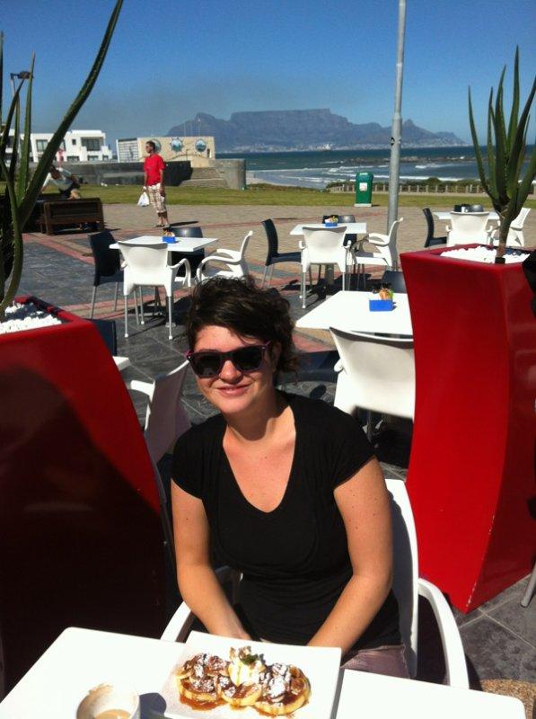 Andrea und tafelberg