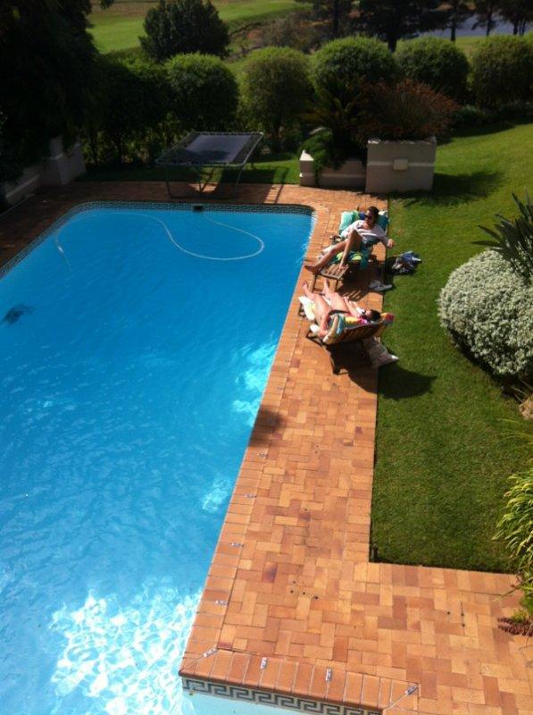 Gammeltag am pool