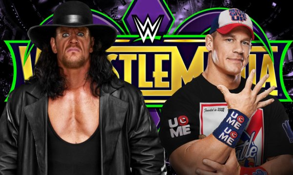 John Cena contre l'Undertaker se passe à WrestleMania 34