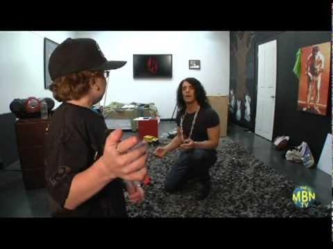 Criss Angel avec Keenan Cahill