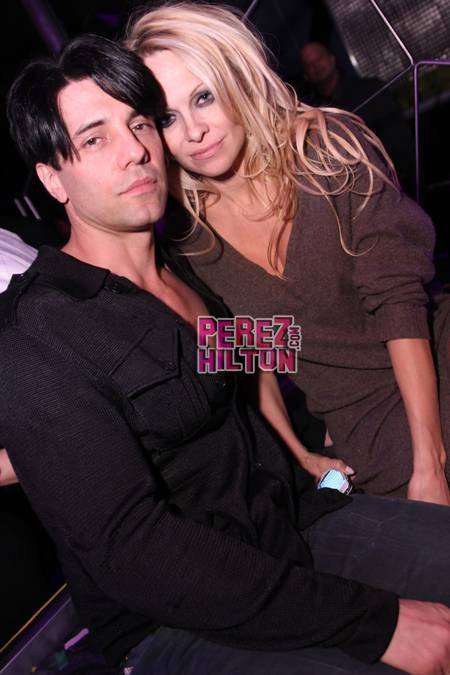 Pamela Anderson et Criss Angel