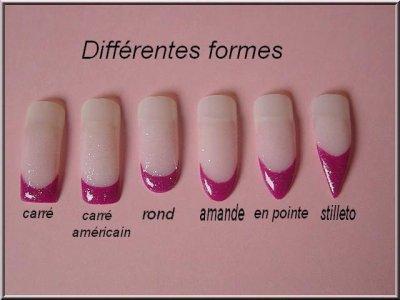 Les petites mains délicates sont normalement à leur meilleur si les ongles  sont courts et légèrement ovales, avec une teinte pâle.
