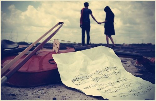 [Music is like love]