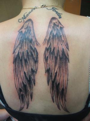 Aile d 39 ange le tatouage - Tatouage ailes d ange ...