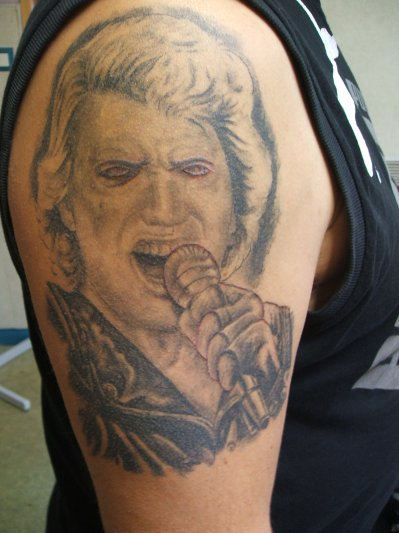 Johnny Hallyday Le Tatouage