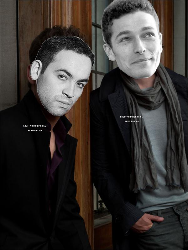 .  Découvre qui se cache derrière les superbes voix française de nos chers frères Salvatore  .