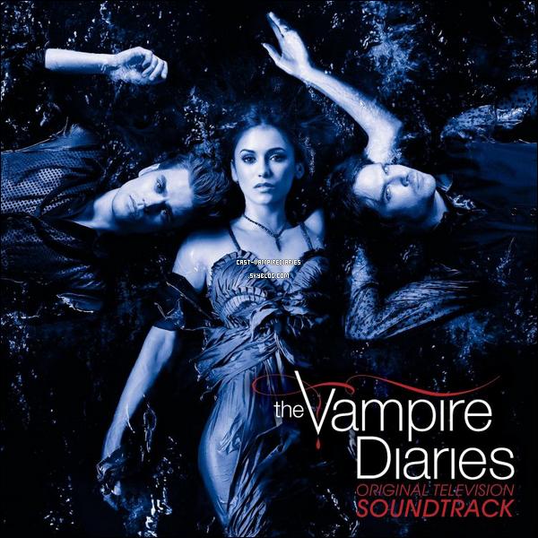 . Voici la pochette de l'album soundtrack de Vampire Diaries .