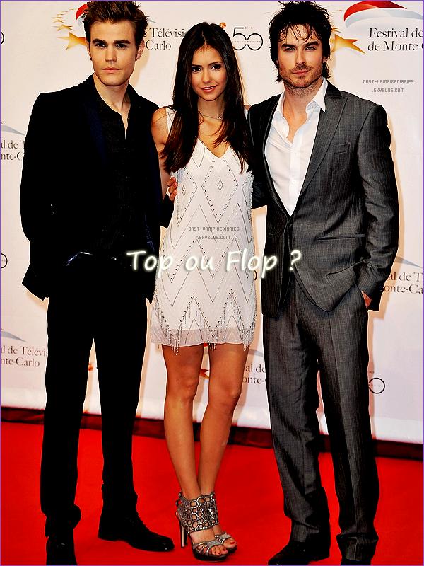 Ian Somerhalder, Paul Wesley & Nina Dobrev