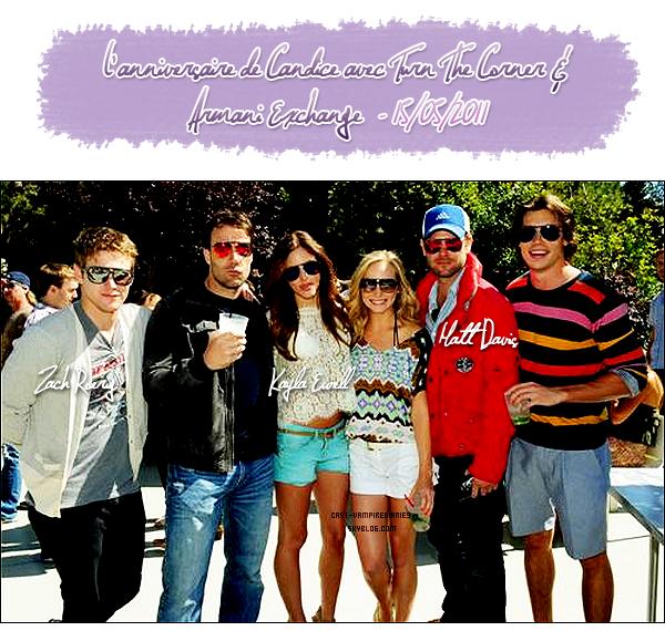 Candice Accola & Kat Graham & Matt Davis & Zach Roerig & Kayla Ewell