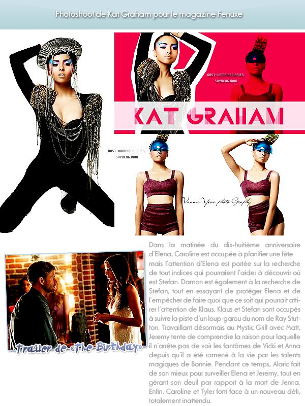 Katerina Graham & Ian Somerhalder & Malese Jow