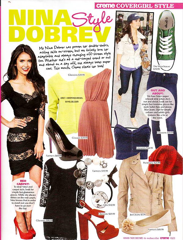 Magazine + Nina Dobrev