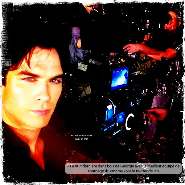 Ian Somerhalder & trailer