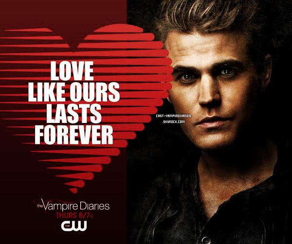 En l'honneur de la St Valentin, 3 images spéciales sont disponibles! Lequel choisiras-tu Damon, Stephan ou Klaus ?