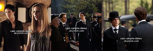 Voici quelques nouveaux stills de l'épisode  3x16 appelé « 1912 » de The Vampire Diaries !