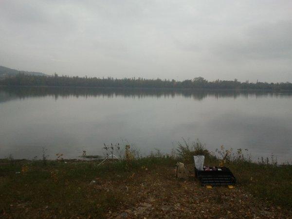 Arriver au lac des moissons a lavencourt