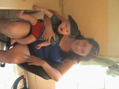 mon neveux avec grand mere