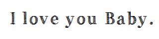 Je t'aime par dessus tout♥