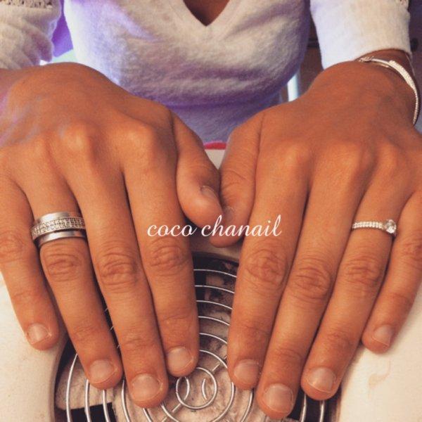Stiletto Nails effet naturel sur ongles rongés Coco Chanail Prothésiste Styliste Ongulaire à Perpignan