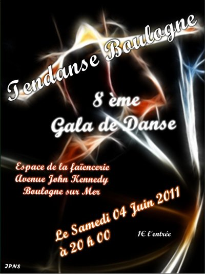 gala de fin d'année le 04 Juin 2011