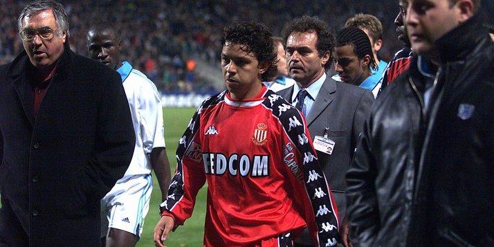 Maillot Monaco porté par Marcelo Gallardo Saison 1999/2000 ...