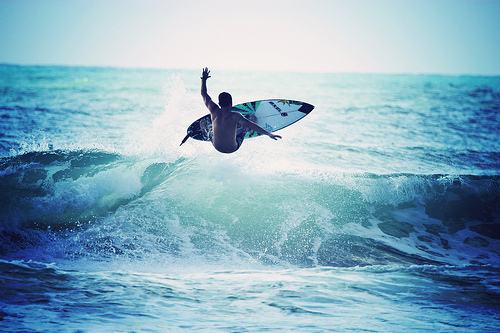 Surf sur le monde. ♥