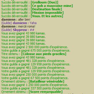 10 000 points de succès