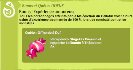 Journée d'xp doublée demain ! (samedi)