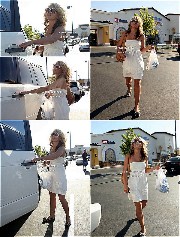 ►Jamie Lynn Spears faisait du shopping dans Los Angeles le 11 Aout 2007 !
