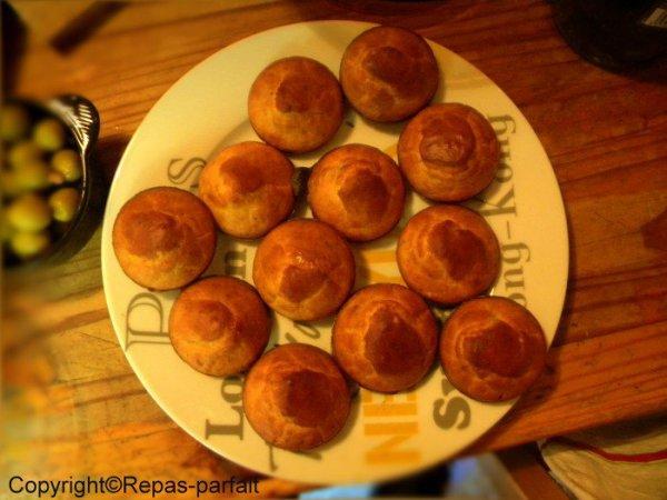 Appéritif : Petits cakes aux épices .