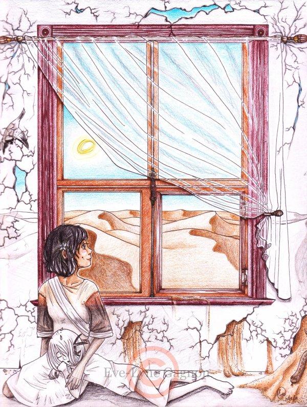 Désert *Daget & Abyad - La fenêtre aux couleurs*
