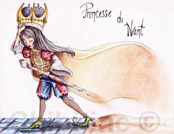 Dessin *La Princesse du Néant*