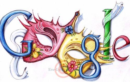 Dessin *Doodle /Mascarade\*