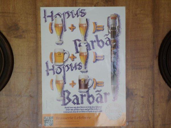 bières du mois : la Barbar et l'Hopus