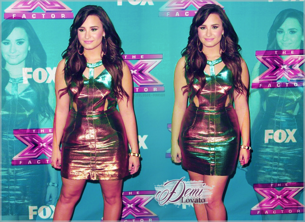 FOLLOW ME ON TWITTER________ARTICLE N°17 // MONTAGE OF DEMI LOVATO // CREATED BY ME.