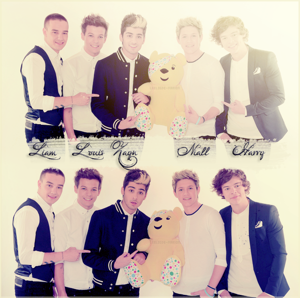 FOLLOW ME ON TWITTER________ARTICLE N°18 // MONTAGE OF ONE DIRECTION // CREATED BY ME.