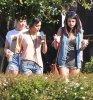 ♥ Selena à son hôtel en Floride !