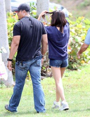 ♥ Selena sur le tournage en Floride !