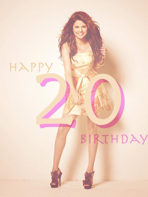 ♥ Happy Birthday Selena !