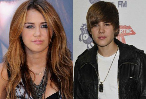 miley  cyrus  and  justin  bieber .