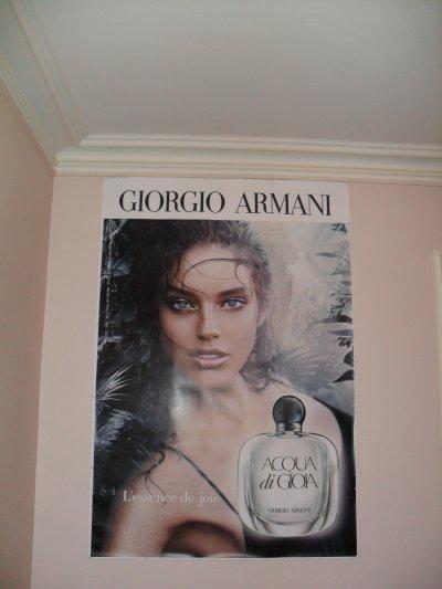 Ma belle affiche Armani