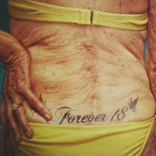 La vieillesse ça n'existe pas, où les secrets de longévité c'est de garder l'esprit d'une fille de 18 ans